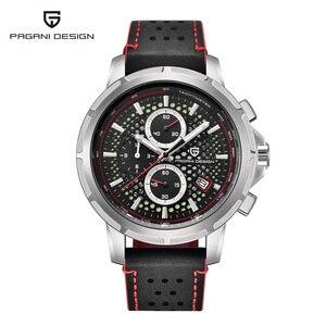 Image 1 - PAGANI DESIGN Luxury Brand Mens Watch Quartz Watch Mens Leather Business Watch Luminous Depth Waterproof Design Watch