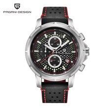 PAGANI עיצוב יוקרה מותג גברים של שעון קוורץ שעון גברים של עור עסקי שעון זוהר עומק עמיד למים עיצוב שעון