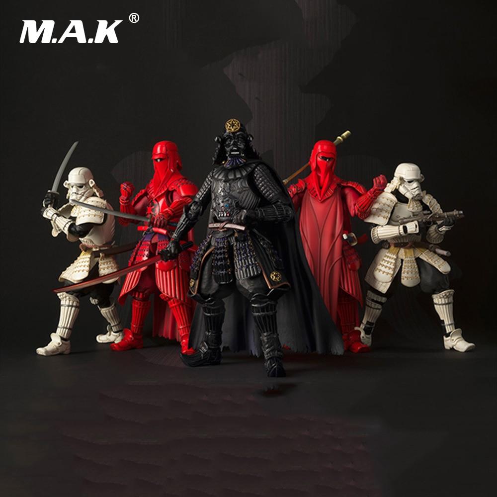 18CM PVC Star Wars Action Figures Darth Vader Boba Fett Sic Samurai Taisho 17cm Anime Figures Toys For Children Gifts Brinquedos
