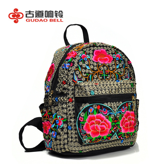 29a0ee6aa7ba China  s embroidery bag leisure women  s shoulder bag tourism students  embroidered backpack manufacturers wholesale famous brand