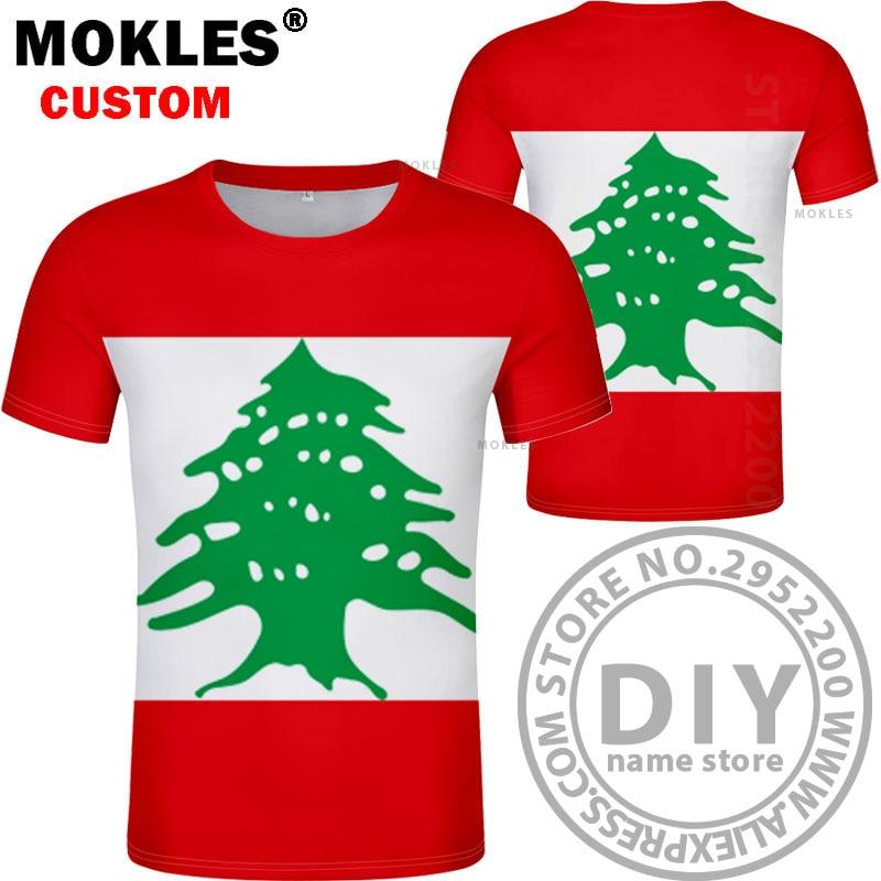 LEBANON მაისური diy უფასო საბაჟო - კაცის ტანსაცმელი - ფოტო 2