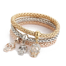 Fashion Jewelry Crystal Pendant Popcorn Bracelet
