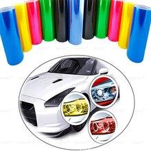 Car light sticker color film 30*60CM for BMW E46 E36 audi a5 a4 b8 mercedes benz amg w204 volkswagen golf 4 7 ford focus 2 3 mk2 цены