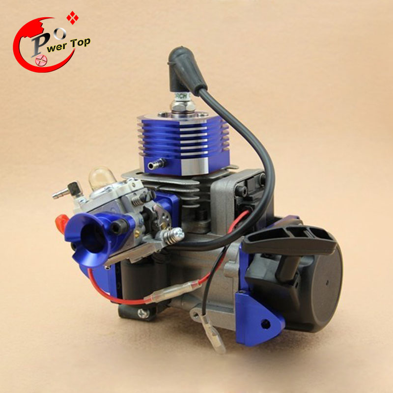 CNC 29CC Water-cooled Engine Deluxe Edition for RC Boats aluminum water cool flange fits 26 29cc qj zenoah rcmk cy gas engine for rc boat