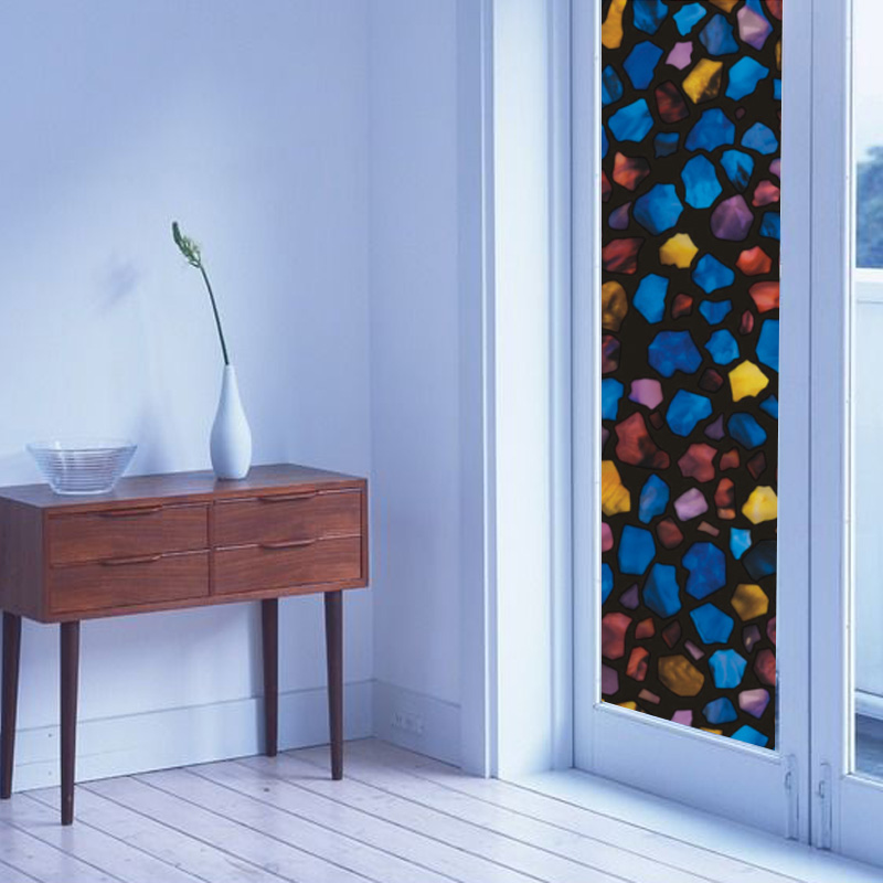 compare prices on stained glass decorative window film- online
