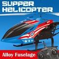 2017 aviao de controle remoto interior co-axial de metal com luz construído em giroscópio 55 cm rc helicóptero com giroscópio acidente resistente toys