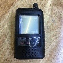 SHC 24 orijinal yumuşak deri kılıf tutucu Yaesu FT2DR FT2DE FT 2DR FT 2DE walkie talkie