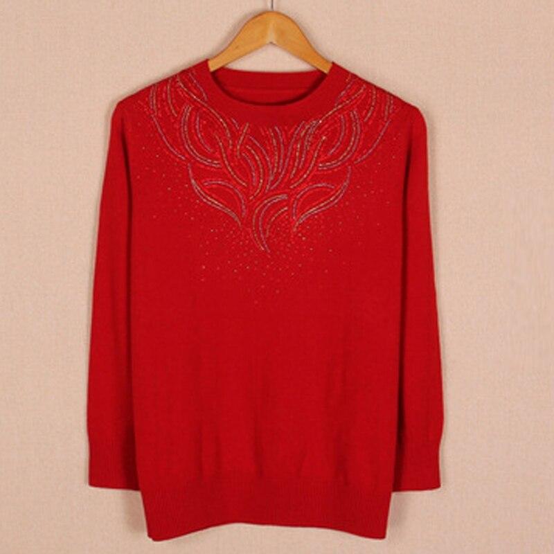 Chandail D'âge La Plus Code Et rouge pourpre Noir 7xl Femmes Grande Moyen Taille Pj520 Mode bourgogne 8xl Vêtements Pour BqqOwx