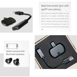 Image 5 - VIKEFON Bluetooth 5,0 аудио передатчик адаптер APTX низкая задержка для Nintendo переключатель PS4 ТВ ПК, USB/Type C беспроводной передатчик