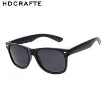 Hdcrafter clásico gafas de sol de los hombres gafas de sol de las mujeres diseñador de la marca de la vendimia original de montura completa gafas de sol oculos gafas de sol