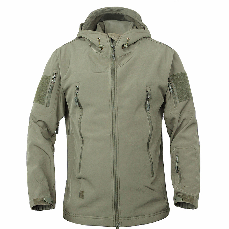 Clothing Tactical-Jacket Shark-Skin Soft-Shell Military Hunt Outdoors Men Waterproof