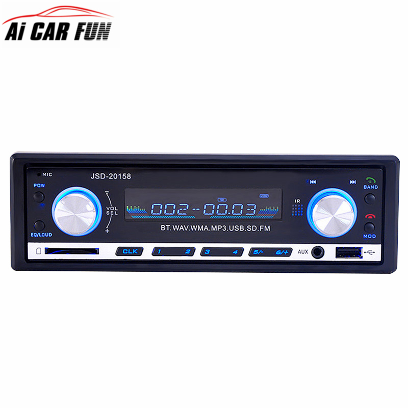 JSD20158 Autoradio font b Car b font Radio USB Bluetooth V2 0 font b Car b