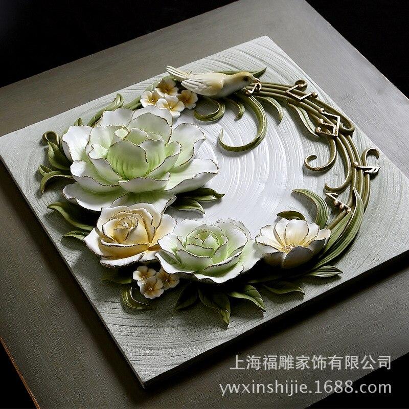 Fu anaglifo tallados muebles pintados a mano de encargo relieves de ...