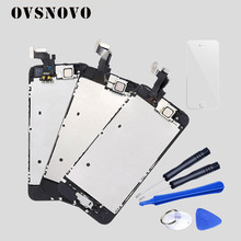 AAA Full Assembly Display for iPhone 5 5C 5S SE LCD Touch Screen Digitizer Replacement Pantalla+Home Button+Front Camera