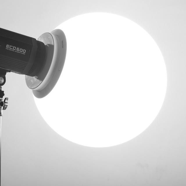 """12 """"/30 سنتيمتر استوديو العالمية غطاء الناشر لينة الكرة قبة الفوتوغرافي softbox فلاش الاستوديو بوينس جبل استوديو صور اكسسوارات"""