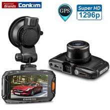 Даш Cam Автомобильный ВИДЕОРЕГИСТРАТОР Ambarella A7 Автомобильный Цифровой Видеорегистратор 1296 P 30FPS 170 Градусов Широкий Угол Камеры DVR HDR + G-Sensor + GPS Тире Cam