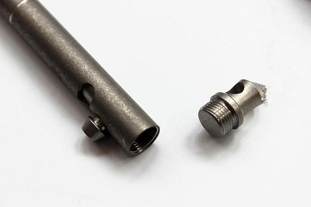 Hot! Christmas Gifts Titanium Alloy EDC Bolt Pen Defensive Pen Tactical Tungsten Alloy Attack Head Signature Pen EDC Multi Tools