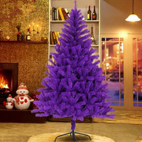 1.8M / 180CM Purple Luxury Encryption Christmas Tree Christmas Hotel Supermarket Home Decorative Supplies