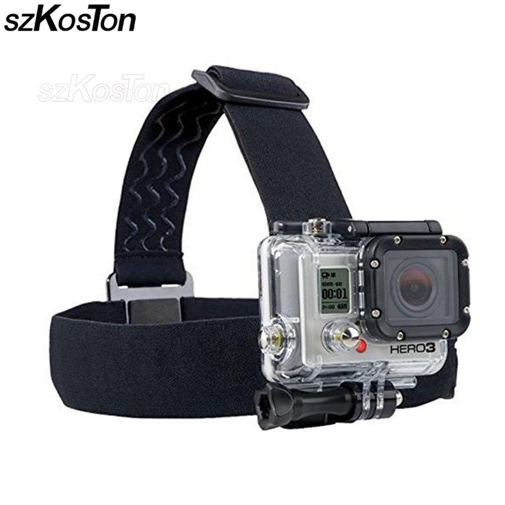 font b Action b font font b Camera b font Gopro Accessories Headband Chest Head