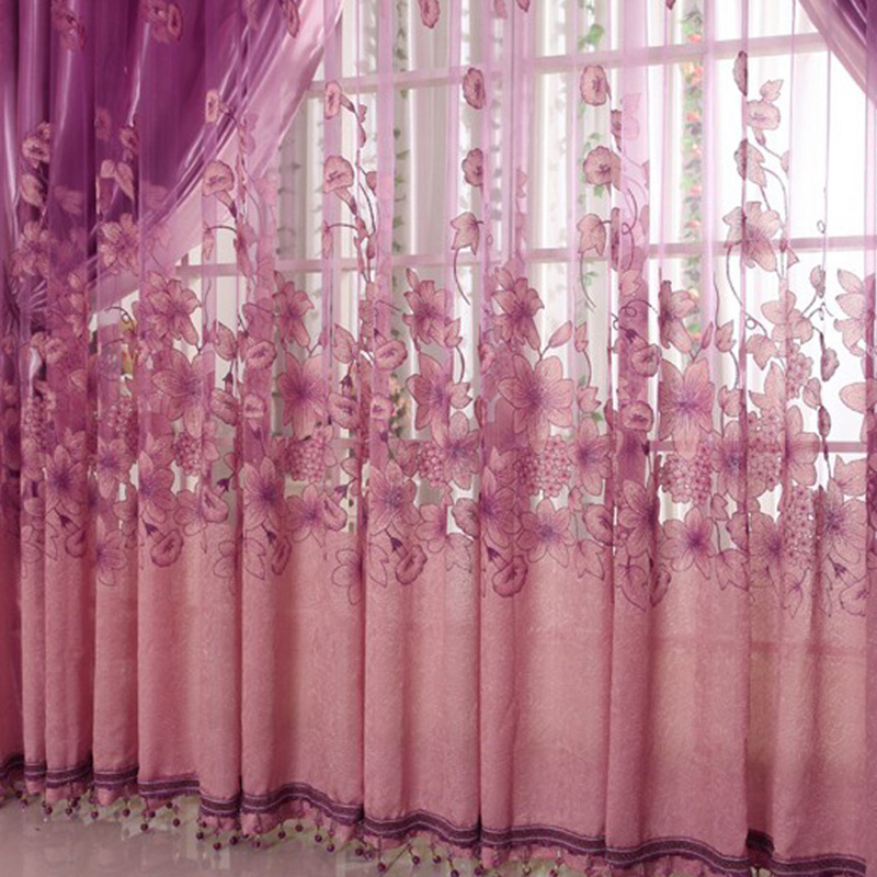 Aliexpress.com : Buy Voile Curtain Window Valance European Lace ...