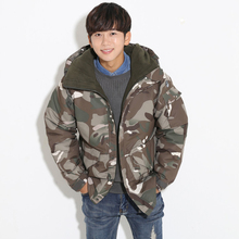 """Newest Edition """"Southplay"""" Winter Waterproof 10,000mm Warming Military Jacket-Camo Brown"""
