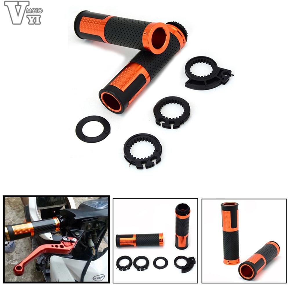 7 8 22mm motorcycle accessories handle bar grips motorbike handlebars for suzuki gsxr600 gsxr750