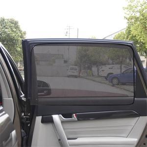 Image 4 - الصيف سميكة شبكة سيارة مظلات سيارة ستارة مغناطيسية الشمس الظل الأشعة فوق البنفسجية حماية شبكة نافذة جانبية الشمس