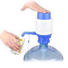Manual Water Drinking Bottle Jug Hand Pump Dispenser Camping Drinking Bottle Switch Spigot Gallon Water Dispenser Portable(China)