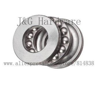 Bearing Supplies Thrust Ball Bearing Sizes 7 x 15 x 5  Miniature Thrust Bearing