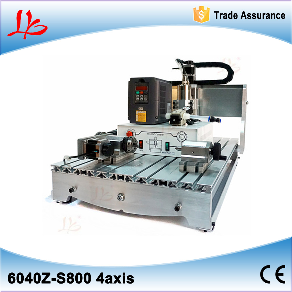 No tax, mini cnc router mini 6040 Z-S800 4axis cnc engraver machine cnc cutting machine no tax to russia cnc carving machine 4030 z d300 cnc lathe mini cnc router for woodworking