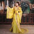Горячие Продажа Новые Традиционные Королевские Драматургического Китайский Древняя принцесса Костюм Hanfu женщина Dress династии Хань одежды