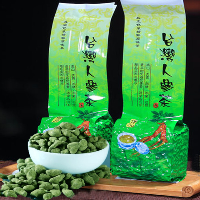 Famous Health Care Tea Taiwan Dong ding Chinese Ginseng 250g  heath care  loose weight Oolong   Tea