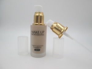 Makeup tools Pump Makeup Fits Foundation used SPF15 SPF35 and others brand liquid foundation pump style I gold