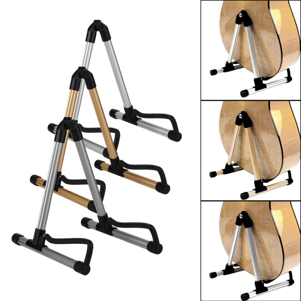 TSAI Guitar Stand Universal Folding For Acoustic Electric Guitars Guitar Floor Stand Holder Excellent Good For Guitarra Players