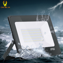 Led Flood Light Spotlight Outdoor 50W 10W 20W 30W Floodlight Reflector Led Projector Light 220V Wall Washer Lamp Waterproof IP66 ip65 ce good quality high power 30w led wall washer led floodlight 30 1w 110 240vac ds t23 h 30w