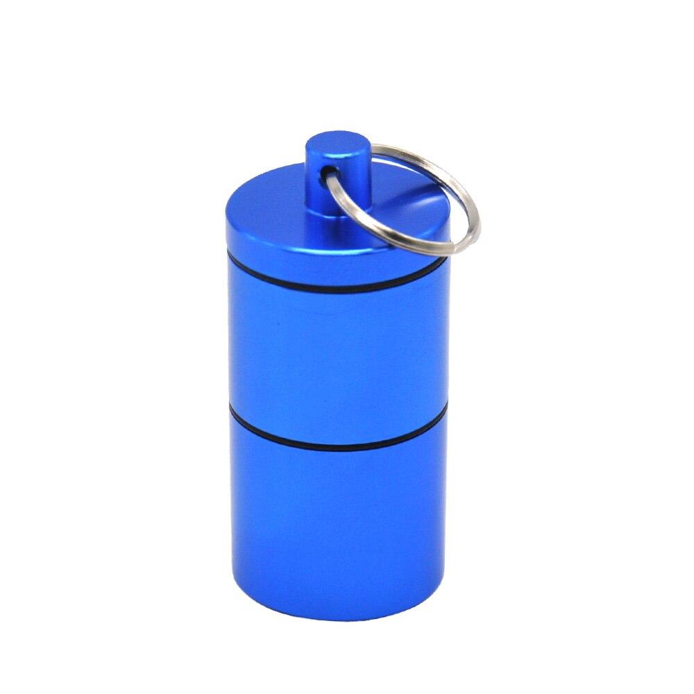 """HORNET Stash Jar-герметичный, устойчивый к запаху алюминиевый контейнер для специй с 2 слоями, чехол для табака """"вы можете собрать его самостоятельно"""" - Цвет: Синий"""