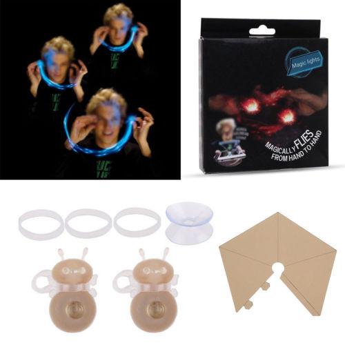 2 pz Luminoso Ape Luci Bugz Giocattolo Evolution Magia 3d Ologrammi Lucciole Gad