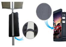 HD высокой яркости P6 наружного освещения Полюс светодиодный дисплей беспроводного управления Полюс уличного LED дисплеем экрана