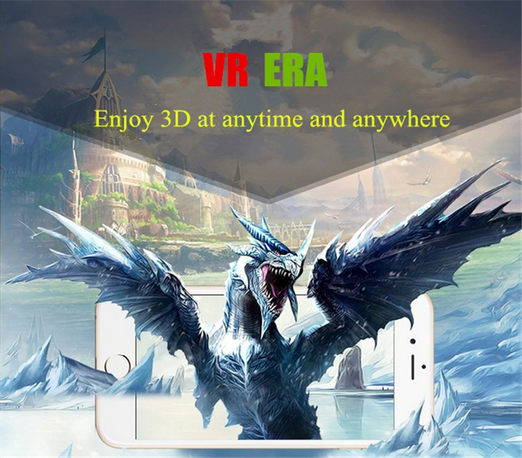 FIIT VR 2S Plastic Version Virtual Reality 3D Glasses Box Google Cardboard Oculos Rift Gear VR for 4.0-6.5 Smart Phone (2)