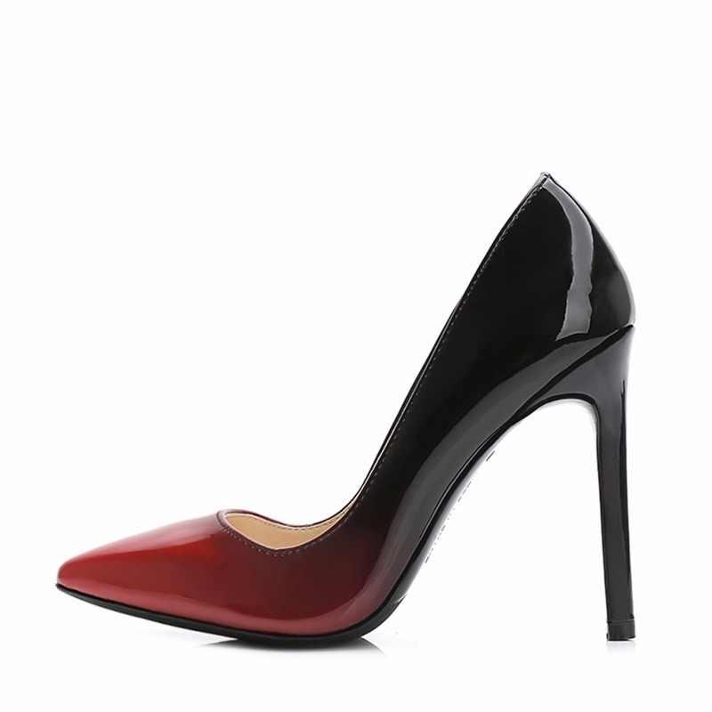 MAIERNISI zapatos de marca mujer tacones altos mujeres zapatos bombas  estilete zapatos para mujeres zapatos de ae34cb745b9c
