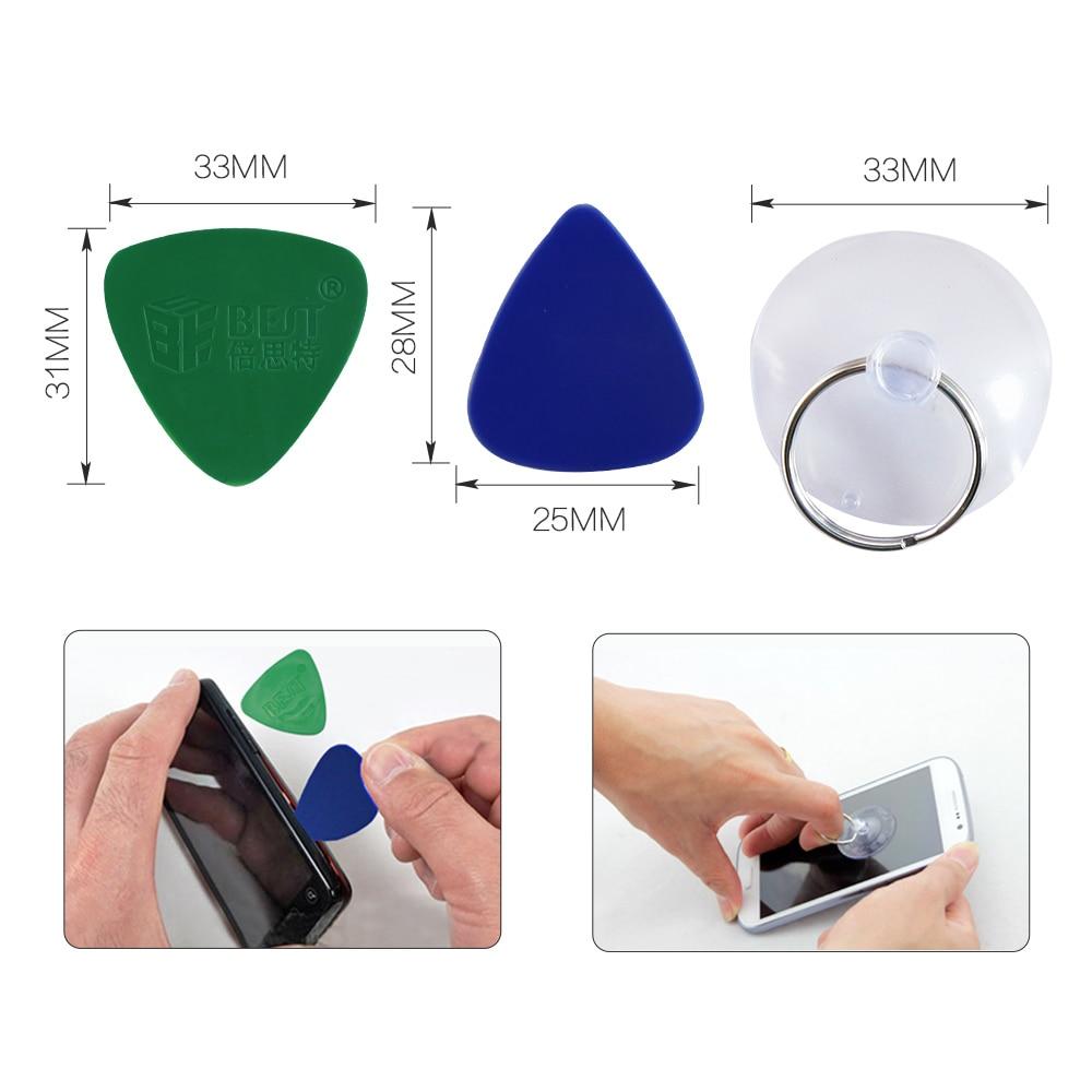 17 in 1 Repair Opening Tool Kit Screwdriver Set Repair Tools Phone Disassemble Tool Set For iPhone iPad HTC Cell Phone Tablet