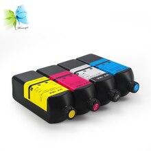 Winnerjet BK,C,M,Y 4 color UV ink for For Konica 512i 1024i printhead Flatbed printer