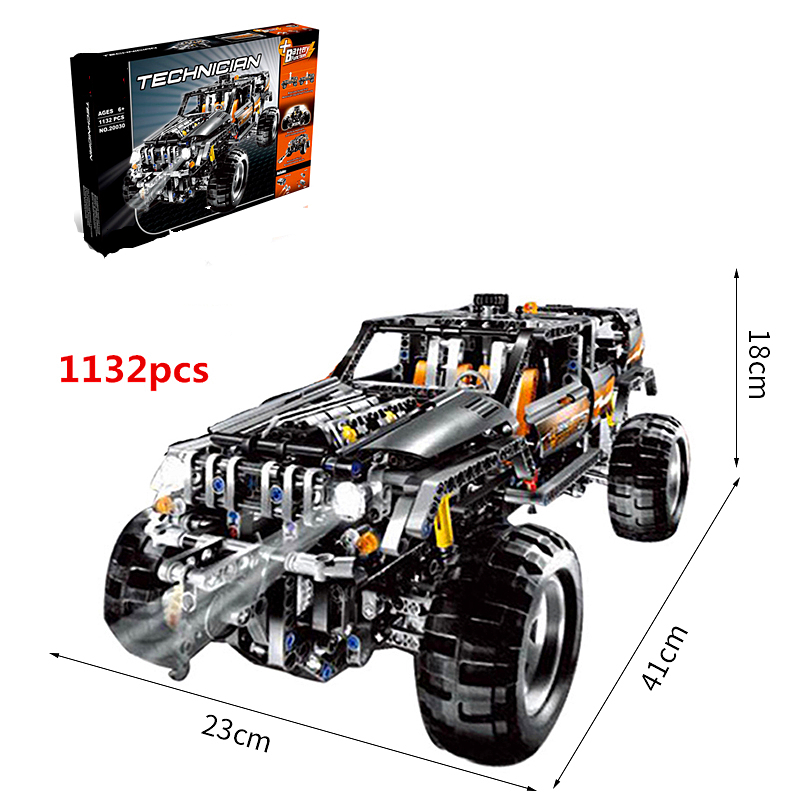 Technic Series Off Roader Set Children Educational Building Blocks Bricks Toys Model Gifts Compatible With 8297 in Blocks from Toys Hobbies