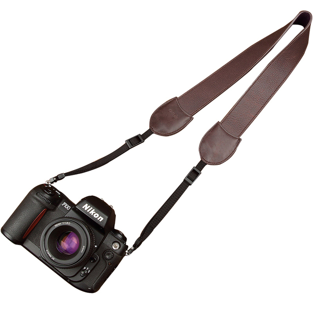 Cam-in Leather Strap Slr Single Micro Photography Universal Adjustable Shoulder Strap  For Nikon For Sony Camera Accessories