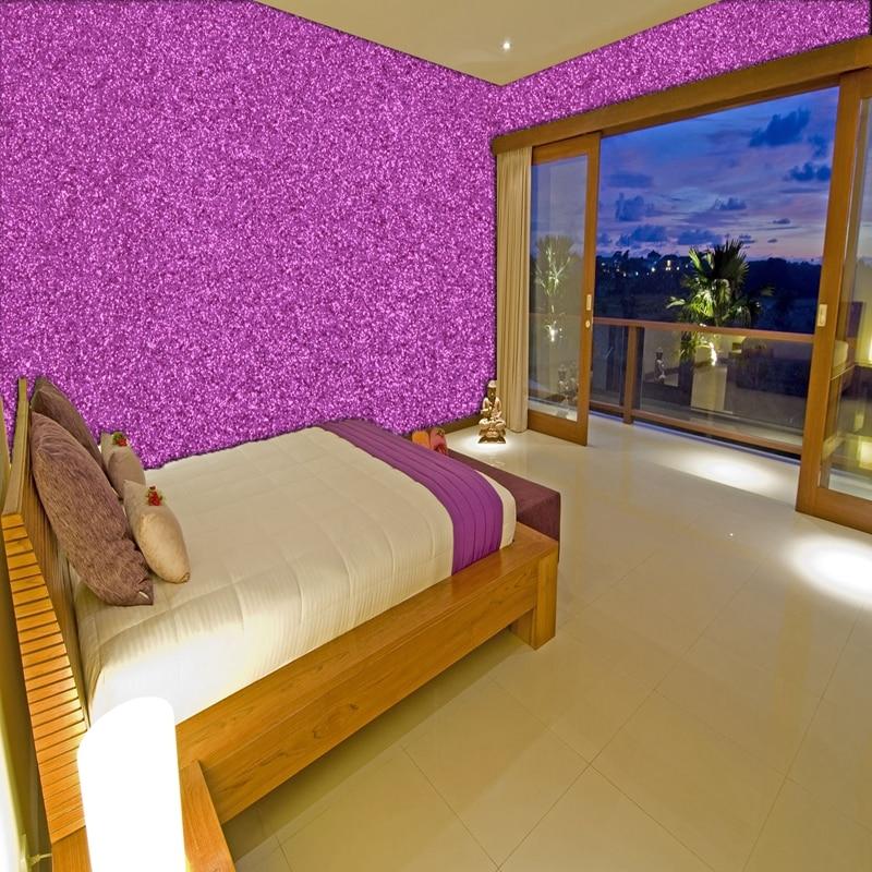 8 м один рулон 138 см ширина Современная комната обои блестящая кожаная ткань обои для девочек комнаты обои