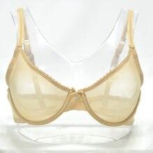 bca290391 Sexy Bra Panties Sales Separated Set Transparent Brassiere Gauze See  Through Underwear Women Erotic Lingerie Hollow Plus Size