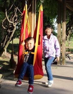Image 4 - 새로운 arrivel 야외 어린이 해먹 정원 가구 스윙 의자 실내 교수형 좌석 어린이 스윙 좌석 파티오 휴대용