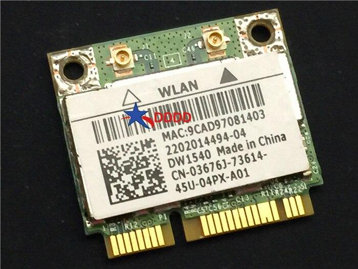 Original FOR Dell Latitude E6330 WiFi 802 11 Wireless WLAN Card 3676J  03676j CN-03676J DW1540 fully tested