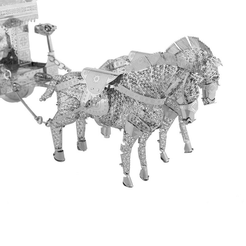 3D Metal Model Puzzles მრავალ სტილის DIY - ფაზლები - ფოტო 2