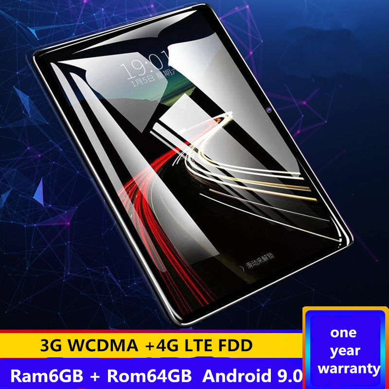 The Tablet Android 9.0 8 Octa Core 64GB ROM 3G 4G LTE 1280 800 IPS 5.0MP SIM Card Ips Tablet 2.5D Tempered Glass 10.1 Inch S119